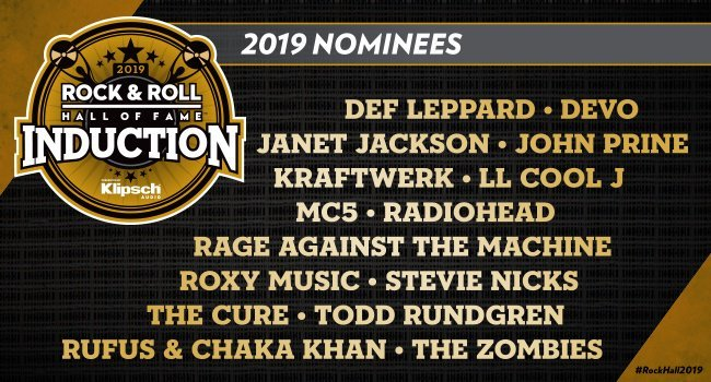 Here is the list of the 15 nominees who are up for induction into the Rock and Roll Hall of Fame for 2019. Who do you think will make it in?