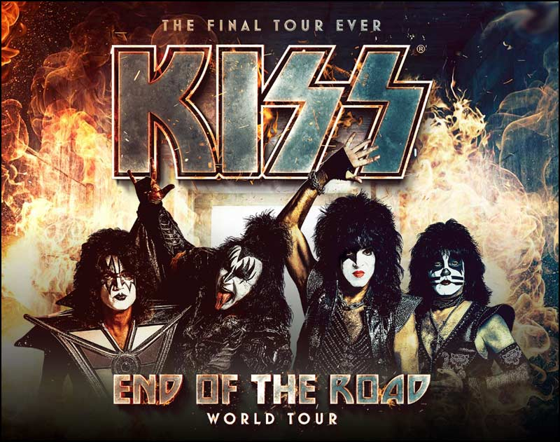 This will be the last tour that KISS will ever perform, so make sure that you secure your tickets as soon as you can.