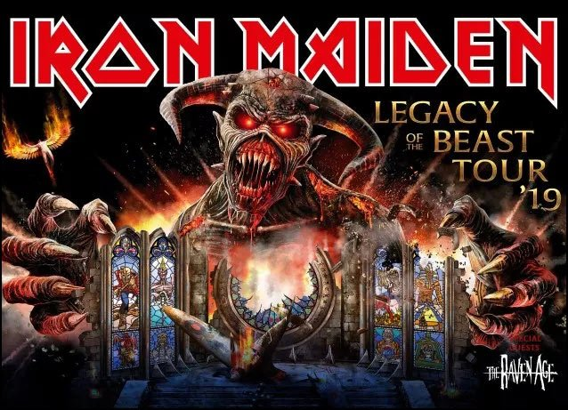 Iron Maiden fans in North America do not have to wait any longer because the band has released their 2019 Legacy of The Beast Tour schedule and it includes over 30 dates.