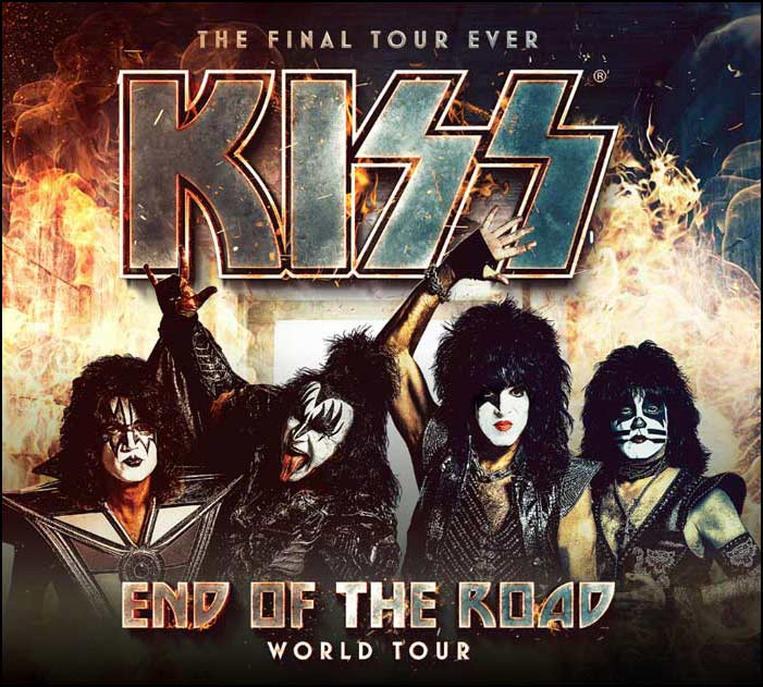 KISS announces their End of the Road World Tour