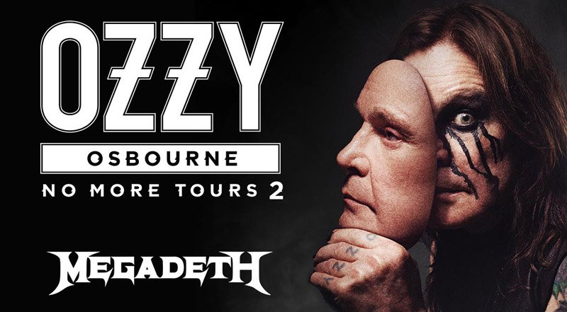 OZZY OSBOURNE UNVEILS 2019 FAREWELL TOUR DATES WITH MEGADETH