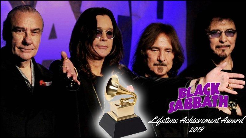 Black Sabbath is set to receive the Lifetime Achievement Award at the 2019 Grammy Awards Show.