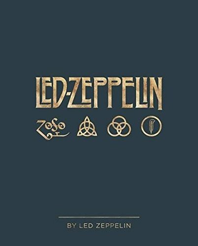 The book Led Zeppelin by Led Zeppelin is a beautiful hard covered book that will enhance any book collection.