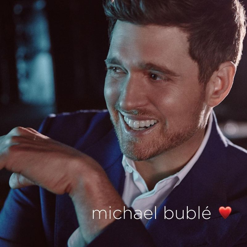 Michael Buble released his latest album, which is simply named with a HEART symbol ❤️, on November 16th. The album's name is pronounced 'LOVE'.