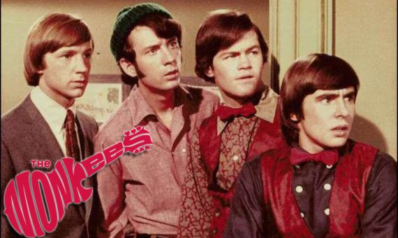 The TV show The Monkees first aired in the US back in early 1966. It starred David Jones (Davy Jones), Micky Dolenz, Michael Nesmith and Peter Tork.