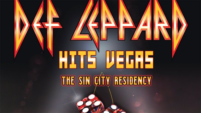 Def Leppard has a small stay in Las Vegas planned. Check out Def Leppard Hits Vegas - The Sin City Residency.