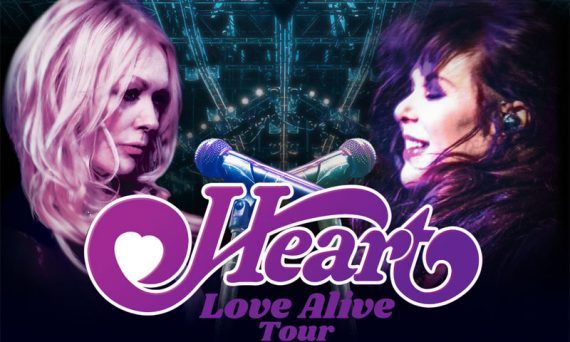 Ann and Nancy Wilson, along with their band HEART, will return to the road in 2019 for the first time in a few years on their Love Alive tour.