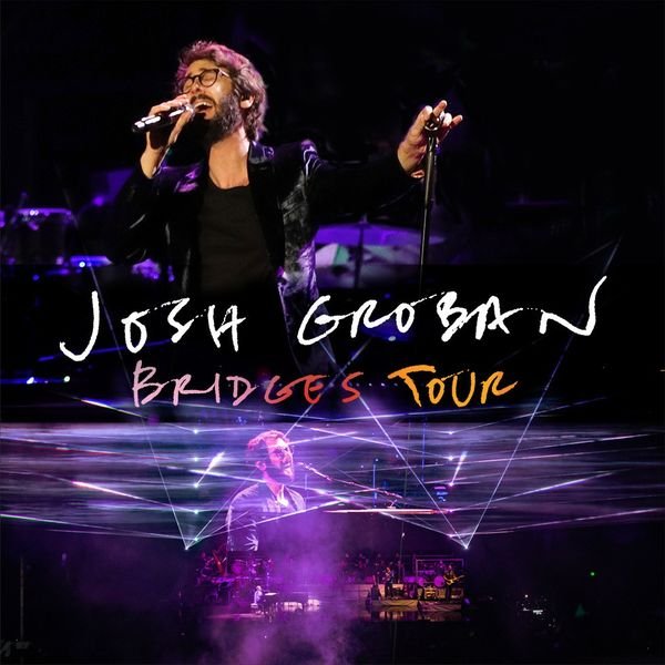 Josh Groban hits the road on his 2019 Bridges Tour and he's playing in North America beginning in June.