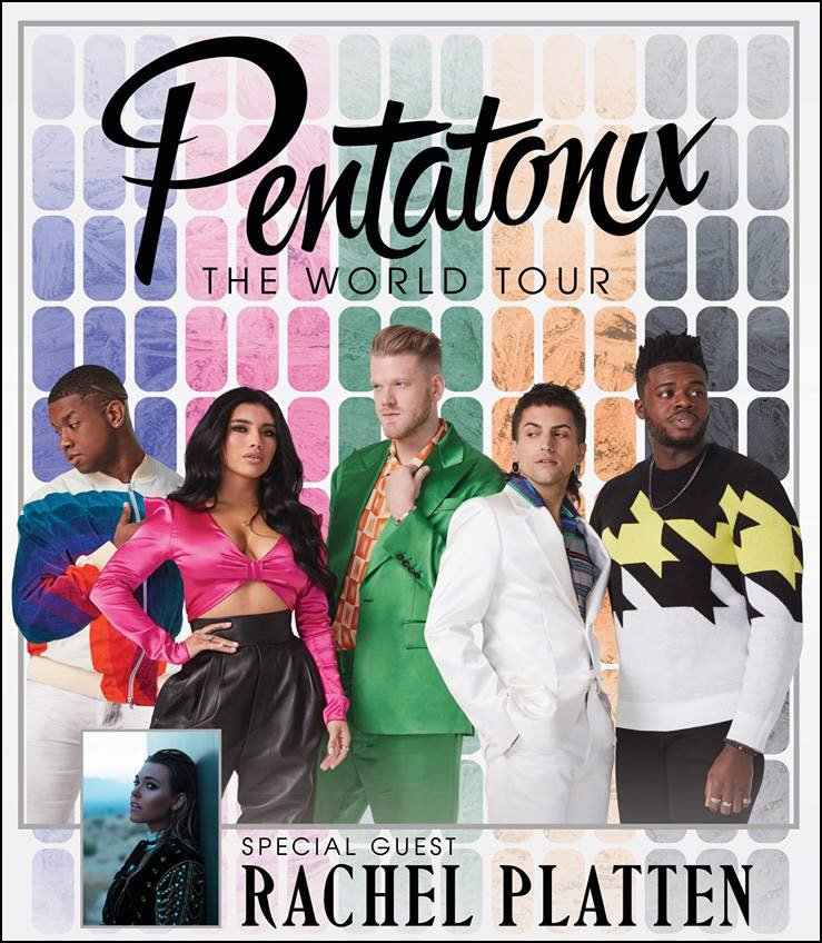 Pentatonix have a huge World Tour planned for through out 2019, and the group just released a whole slew of tour dates just in North America.