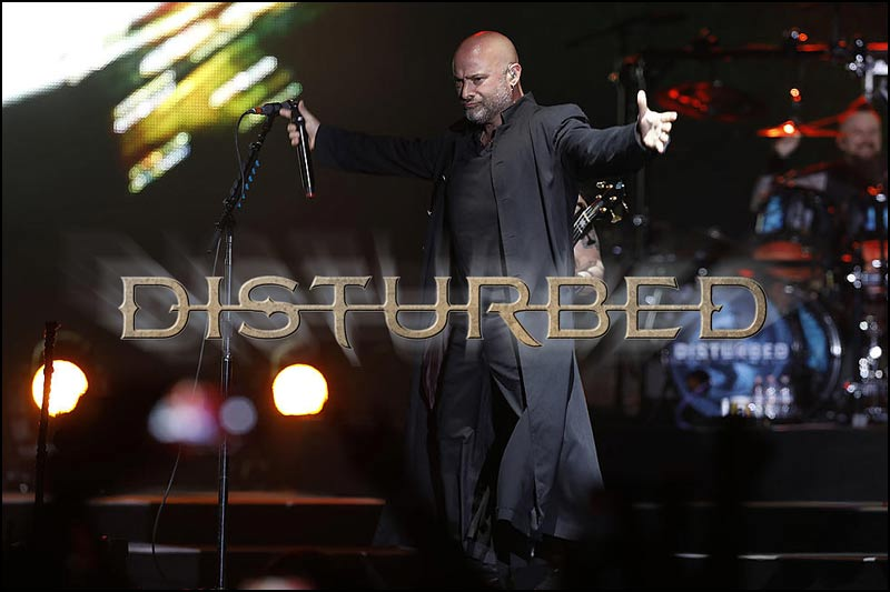 Disturbed adds summer and fall tour dates to 2019 tour. So much for David Draiman saying that he didn't want to tour a lot.