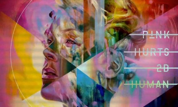 Here is what the cover of P!NK's newest album Hurts 2B Human will look like.