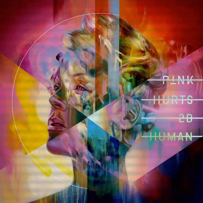 Tracklist of P!NK's new album Hurts 2B Human released, along with new song 'Hustle'. Listen Here.