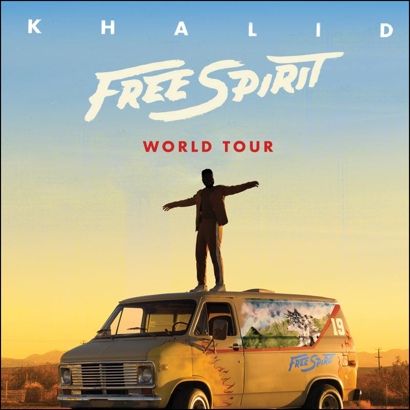 R&B fans should be quite excited for this summer as it's going to be a great one. Khalid will be on his 2019 Free Spirit Tour and he'll be performing at venues across North America.