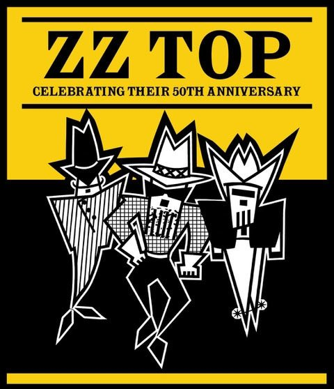 ZZ Top will be celebrating their 50th anniversary on the road and on tour! For an awesome live experience, be sure to check them out performing at a venue near you.