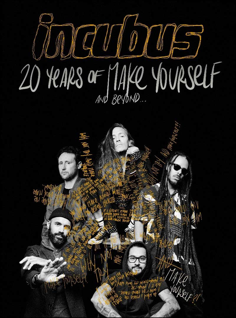 """Entitled the """"20 Years of Make Yourself & Beyond"""" tour, the lengthy trek will take the funk rockers to 39 North American cities."""