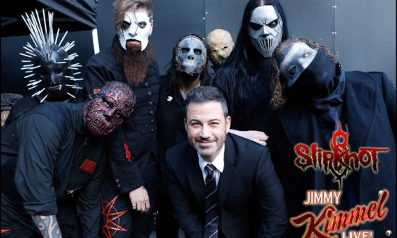Slipknot appeared live on the Jimmy Kimmel show the other night, releasing glimpses of their new masks along with performing two new songs off their new album We Are Not Your Kind.
