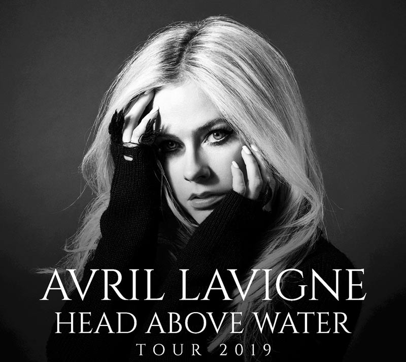 Get ready for Avril Lavigne's first tour in 5 years. She's going on tour to support her latest album release which is called Head Above Water.
