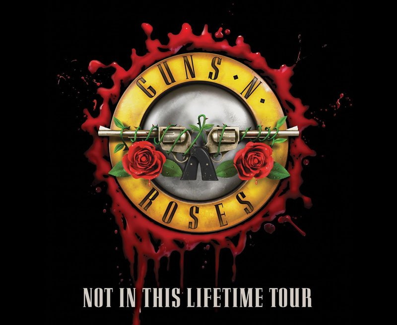 Guns N' Roses continue their Not In The Lifetime Tour with handful of new U.S. tour dates.