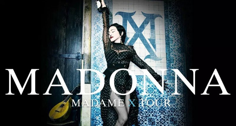 Madonna will be on tour performing in theaters across North America. Don't miss Madonna on her Madame X Tour.