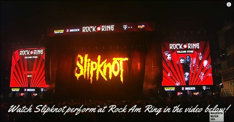 Watch Slipknot Perform Live from Rock am Ring