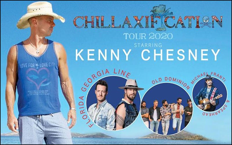 Don't miss Kenny Chesney on tour with special guests Florida Georgia Line, Old Dominion and Michael Franti & Spearhead.