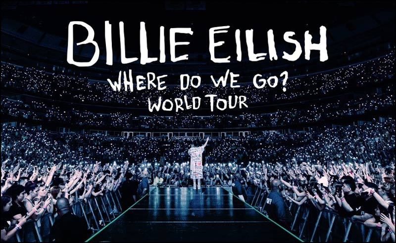 Billie Eilish follows up her debut album with her 2020 Where Do We Go? Tour. It is going to be HUGE.