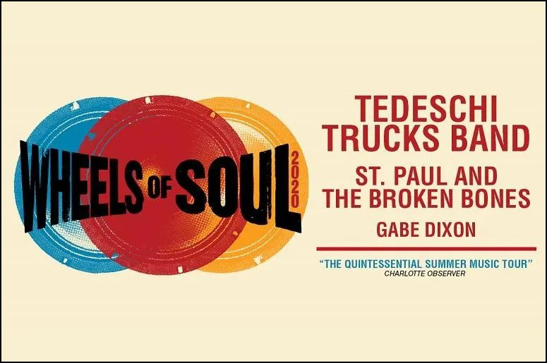 The sixth annual 2020 Wheels of Soul Tour by the Tedeschi Trucks Band will take place this summer. Don't miss it!