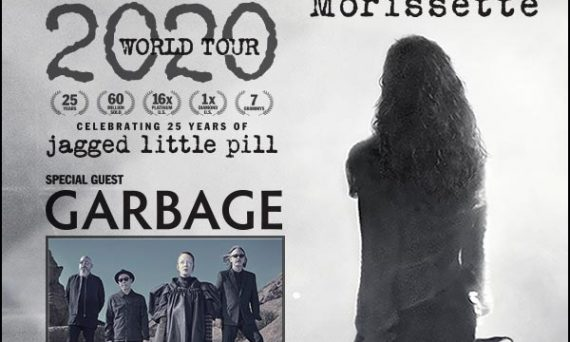 Don't miss Alanis Morissette live on tour in 2020, with special guests Garbage and Liz Phair.