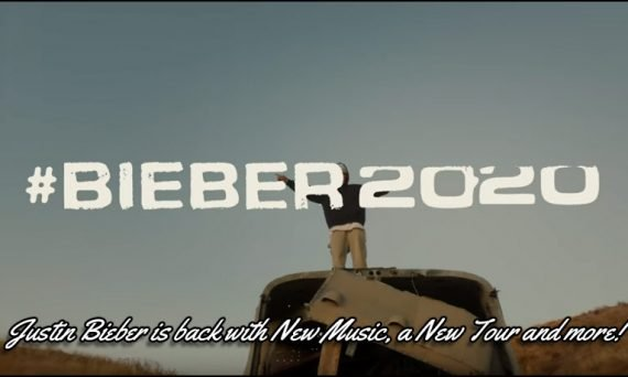 Justin Bieber is back with a 2020 concert tour and brand new music. Check out the teaser video below!