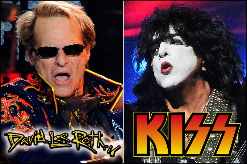 80's Rock Music fans check this out! David Lee Roth will be opening for KISS during their 2020 North American leg of their End Of The Road Tour.