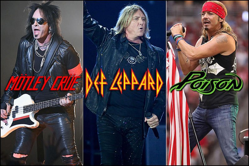 Don't miss what is promising to be one of the largest concert tours of 2021. Motley Crue, Def Leppard, Poison and special guest Joan Jett & The Blackhearts will be on the road together and headed towards a venue near you.