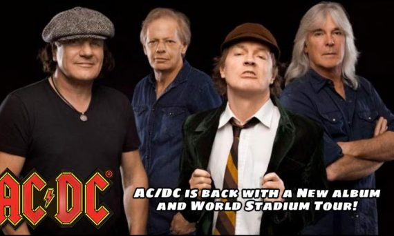 AC/DC to Release New Album and go on World Stadium Tour this 2020 year.
