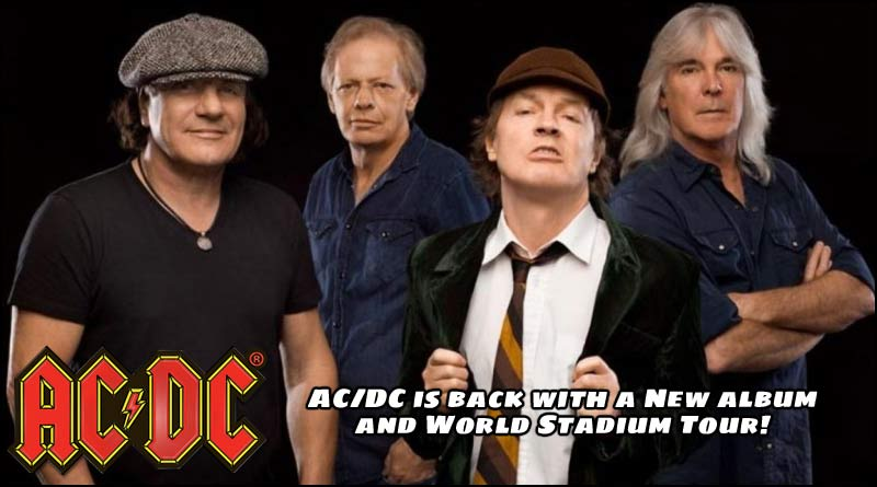 Rumor Mill : AC/DC to Release New Album and go on World Stadium Tour