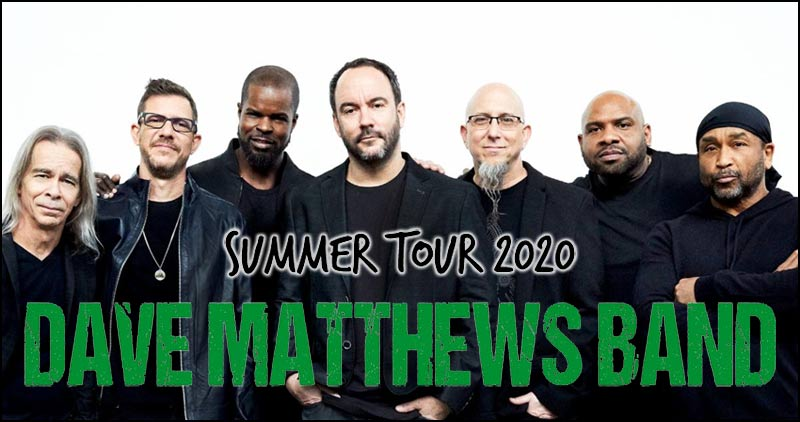 The Dave Matthews Band just announced their plans for their 2020 Summer Tour.