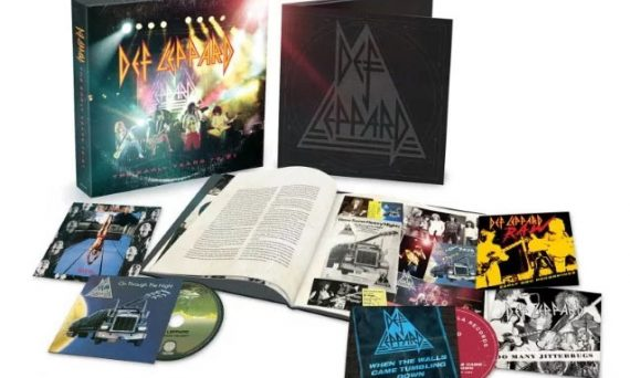 Def Leppard releases box set of their Early Years 1979 - 1981. The set will be available to the public on March 20th.