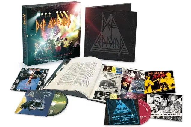 Def Leppard releases box set of their Early Years