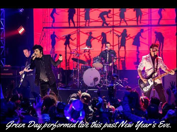 Watch the video below to see Green Day perform 'When I Come Around' on Dick Clark's New Year's Rockin' Eve With Ryan Seacrest.
