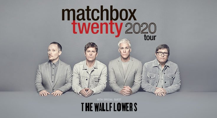 Don't miss the Matchbox Twenty 2020 Tour when they come to perform live at a venue near you.