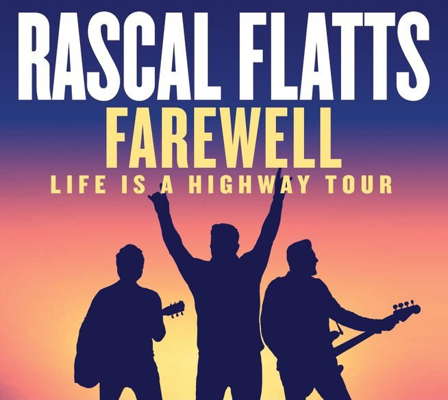 Don't miss your last chance to see Rascal Flatts when they are on their Farewell Tour this year.