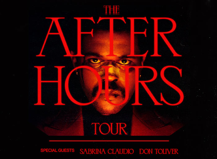The After Hours Tour - The Weeknd with special guests Sabrina Claudio and Don Toliver