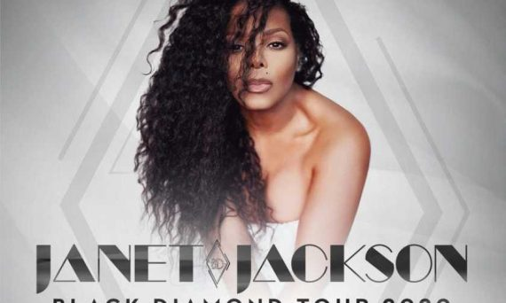 Janet Jackson releases news about Black Diamond new album and concert tour for 2020.
