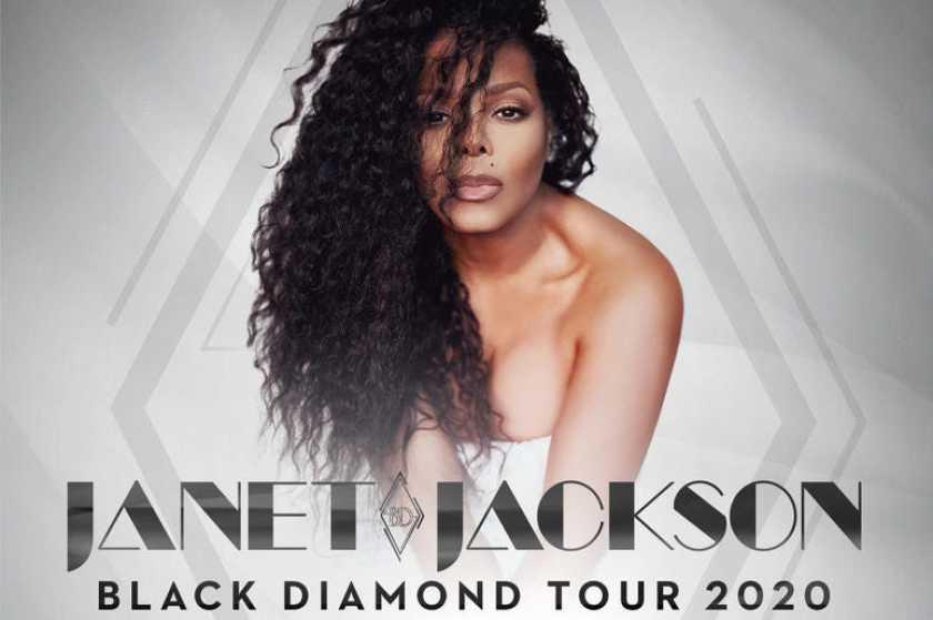 Janet Jackson's New Black Diamond Album and Tour