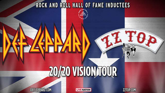 Def Leppard & ZZ Top announce their 20/20 Vision Tour which takes place later in the 2020 year.
