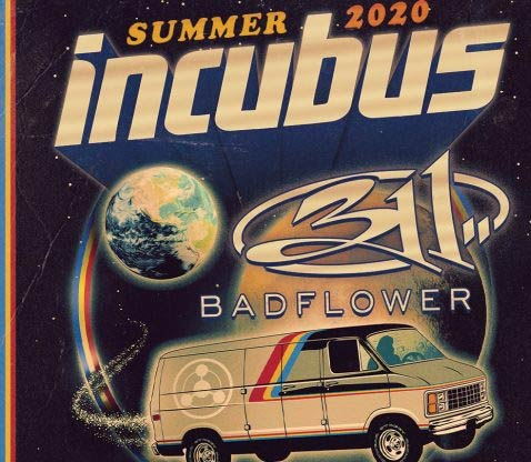 The 2020 tour with Incubus and 311 will be visiting over 30 cities across the country. Don't miss your chance to see both bands live in concert.