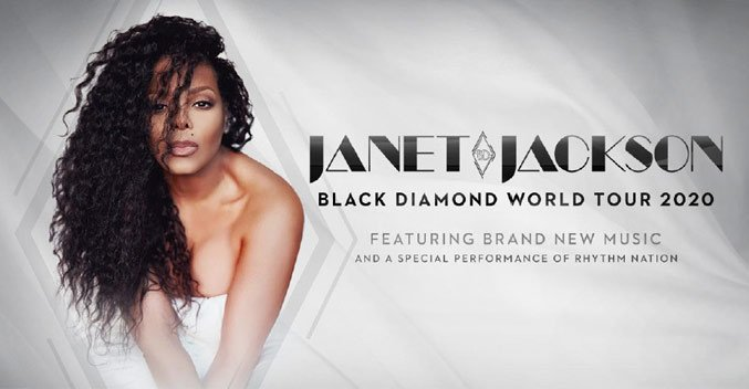 Janet Jackson is back, and she's going on tour! Look for her new album Black Diamond too!