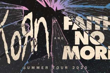 Korn and Faith No More have announced a 2020 summer co-headlining tour.