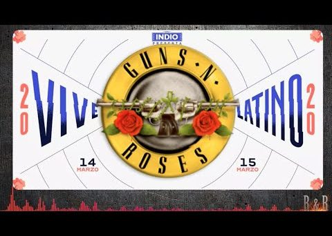 Guns N' Roses performed at Vive Latino, a music festival that took place in Mexico City on March 14th. The coronavirus, or Covid-19, could NOT stop Axl Rose, Slash and the rest of the guys. Check out the videos below.
