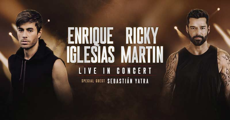Latin music lovers are in paradise! The knockout duo of Enrique Iglesias and Ricky Martin will be on tour together this fall.