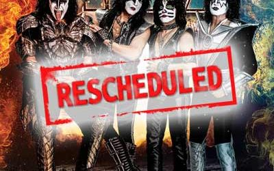 Press Release from the band KISS : Rescheduled European Tour Dates