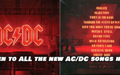 AC/DC Releases Videos For Every Song on New Album. Listen here :